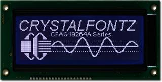 192x64 Parallel Graphic LCD (CFAG19264A-STI-TN)