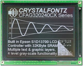 320x240 Parallel Graphic LCD