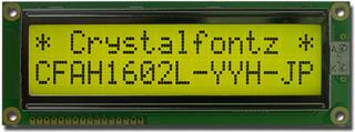 16x2  Parallel Character LCD (CFAH1602L-YYH-JP)