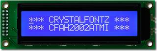 20x2  Parallel Character LCD (CFAH2002A-TMI-JT)