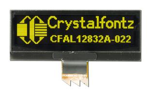 128x32 Small Yellow OLED Module (CFAL12832A-022Y)