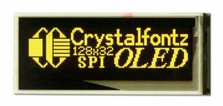 128x32 Small OLED Display (CFAL12832B-0091P-Y)