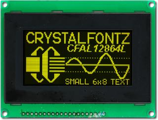 128x64  Parallel Graphic OLED (CFAL12864L-Y-B4)