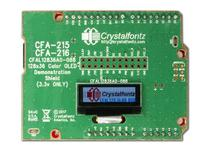 128x36 Full Color OLED with carrier board. CFA215