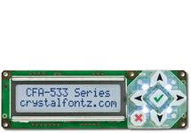 16x2 Character Display Module CFA533-TFH-KU