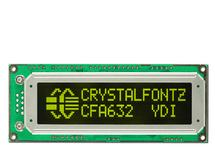16x2 Character Display Module CFA632-YDI-KU