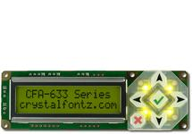 16x2 Character USB Display Module CFA633-YYH-KU