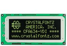 20x4  Serial RS-232 Character LCD CFA634-YDI-KS