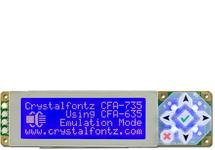 20x4 Character RS232 Display CFA735-TML-KT