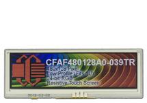 480x128 Bar-Type Resistive Touchscreen TFT CFAF480128A0-039-TR