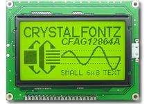 128x64  Parallel Graphic LCD CFAG12864A-YYH-VN