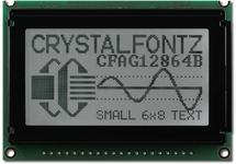 128x64 Gray Parallel Graphic LCD CFAG12864B-TFH-V