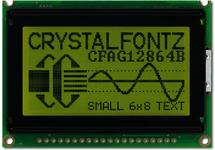 128x64 Transflective Graphical LCD CFAG12864B-YYH-N