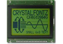 128x64  Parallel Graphic LCD CFAG12864G-YYH-TY