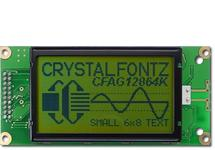 Sunlight Readable 128x64 Graphic LCD CFAG12864K-YYH-TN