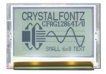 128x64 SPI Graphic LCD Display CFAG12864T2-TFH