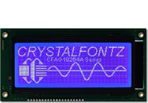 192x64 Parallel Graphic LCD CFAG19264A-TMI-TN