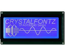 Blue Monochrome 192x64 Graphic LCD CFAG19264D-TMI-VN