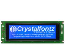 White on Blue 240x64 Graphic LCD CFAG24064A-TMI-TZ
