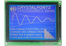 320x240  Parallel Graphic LCD CFAG320240CX-TMI-T