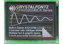320x240 Parallel Graphic LCD CFAG320240CX-TTI-T