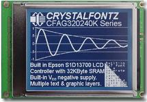 320x240 Parallel Graphic LCD CFAG320240K-STI-TZ