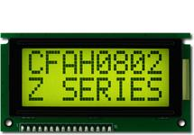 Sunlight Readable 8x2 Character LCD CFAH0802Z-YYH-JP