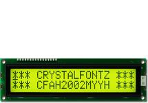 20x2  Parallel Character LCD CFAH2002M-YYH-ET