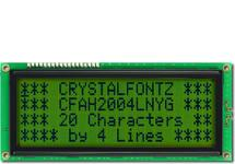 20x4  Parallel Character LCD CFAH2004L-NYG-ET