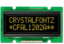 12x2  Parallel Character OLED CFAL1202A-Y