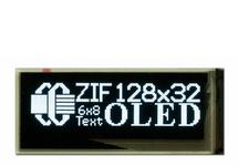 128x32 I2C Graphic OLED Module with ZIF Connector CFAL12832D-B