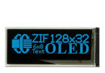 Small Blue Graphic OLED With ZIF - 128x32 CFAL12832D-BB