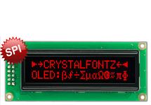 16x2 Red SPI Character OLED CFAL1602C-PR