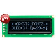 SPI 16x2 White Character OLED CFAL1602C-PW