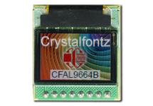 96x64 Color OLED with Carrier Board CFAL9664BFB1-E1-1