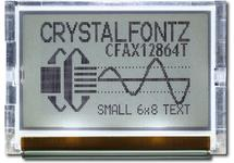 128x64  Parallel Graphic LCD CFAX12864T-TFH