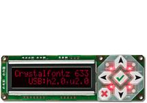 16x2 Character USB Display Module CFA633-RDI-KU