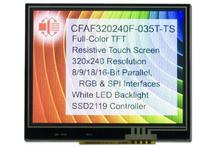 "320x240 3.5"" Touch Screen Color TFT CFAF320240F-035T-TS"