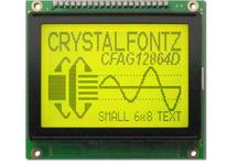 128x64 Sunlight Readable Graphic LCD CFAG12864D-YYH-TZ