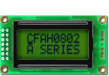 8x2  Parallel Character LCD CFAH0802A-NYG-JT
