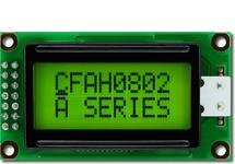 8x2 Sunlight Readable Character LCD CFAH0802A-YYH-JT