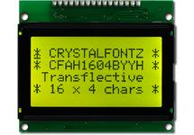16x4  Parallel Character LCD CFAH1604B-YYH-ET