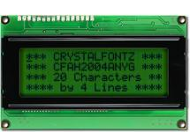 20x4  Parallel Character LCD CFAH2004A-NYG-JT