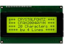 20x4  Parallel Character LCD CFAH2004A-YYH-JT