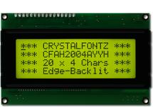 20x4  Parallel Character LCD CFAH2004A-YYH-JTE