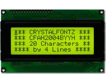 20x4  Parallel Character LCD CFAH2004B-YYH-ET