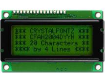 20x4  Parallel Character LCD CFAH2004D-YYH-ET