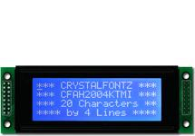 White on Blue 20x4 Character Display CFAH2004K-TMI-JP