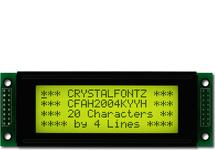20x4  Parallel Character LCD CFAH2004K-YYH-JP