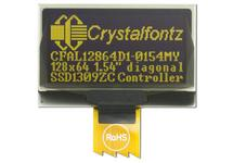 128x64 Yellow Graphic OLED CFAL12864D1-0154MY